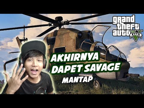 GTA 5 ZOMBIE SURVIVAL MOD | Ni Helikopter Berguna Banget Buat lawan Zombie - Part 17