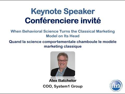 #ttra2017 Keynote: Alex Batchelor, COO, System1 Group