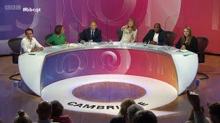 BBC Question Time | Cambridge | 23 September 2021 | Insulate Britain