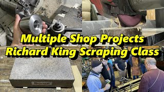 SNS 333: Several Shop Projects, Richard King Scraping Class, Audio Problems