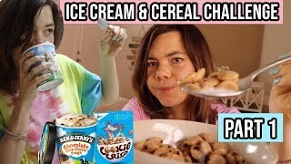 Eating ice cream & cereal everyday for a week PART 1. Fear foods in ED recovery