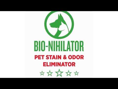 Bio-nihilator Carpet & Hardwood Floor Cleaners- Get Rid of Stains!
