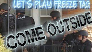 SWAT PLAYING GAMES AT GRANDMA'S AGAIN (First Amendment Mesa, AZ. Audits)