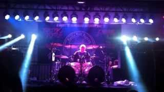 DRUM SOLO CARL CANEDY / THE RODS MAY 11 2013 OLD BRIDGE METAL MILITIA NEW JERSEY