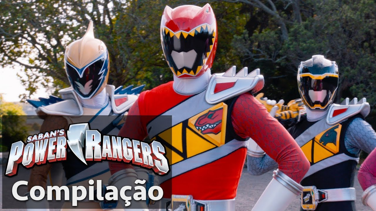 Power Rangers Em Portugues Rangers Dino Super Charge Juntos