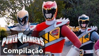 Video Power Rangers em Português | Rangers Dino Super Charge juntos! download MP3, 3GP, MP4, WEBM, AVI, FLV Juni 2018