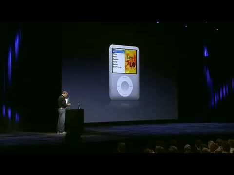 Apple Music Event 2007 iPod nano (3rd gen) Intro
