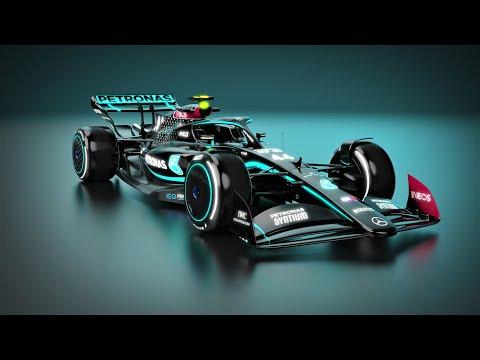 2022 Mercedes AMG F1 Black Livery
