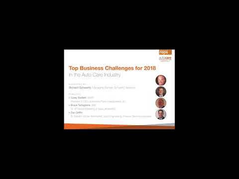 Top Business Challenges for 2018 in the Auto Care Industry