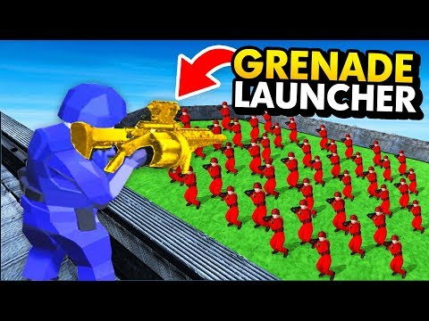 INCREDIBLE NEW GRENADE LAUNCHER vs RED ARMY IN Ravenfield