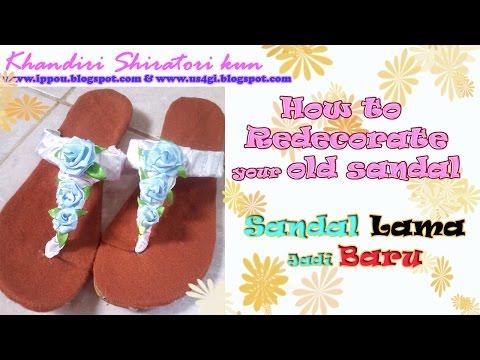 Membuat Sandal Pita Menggunakan Kain Perca | Doovi