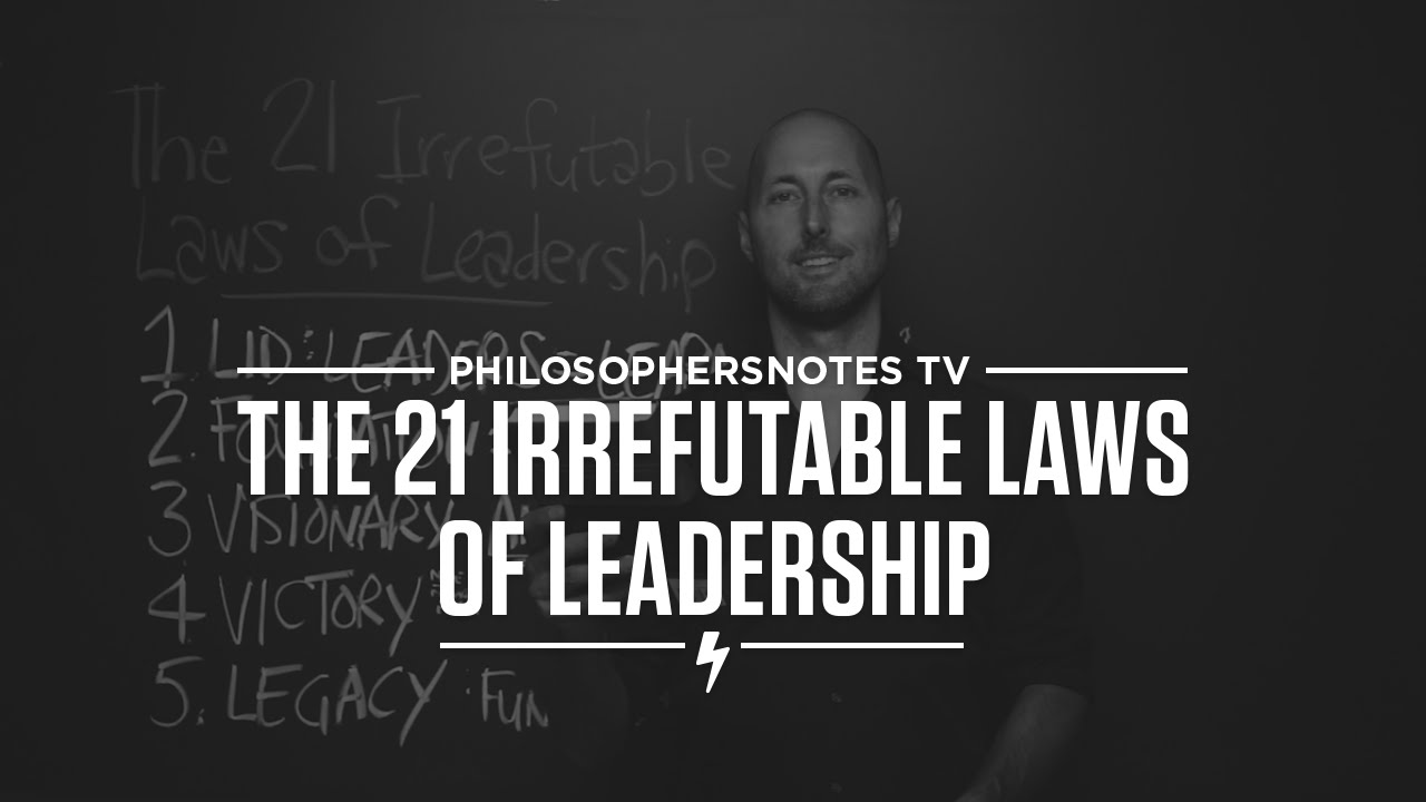 Pntv The 21 Irrefutable Laws Of Leadership By John C Maxwell Youtube