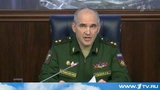 Минобороны подвело итоги деятельности российских ВКС в Сирии в 2015 году   Первый канал