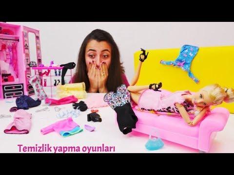 Barbie temizlik yapma oyunları. Seçkin bölümler!