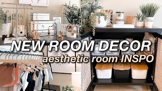 NEW ROOM DECOR VLOG I HUGE room decor haul, IKEA shopping, & how I redecorated my room!