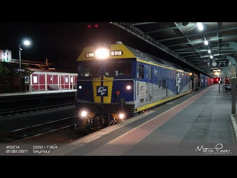 2017 08 01 - QUBE Freight - #9374 - G512 + T364