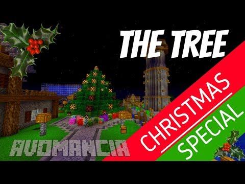 How to make a working Christmas Tree in Minecraft look FAB | Avomancia Ep56 with Avomance