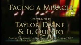 """Facing a Miracle"" - Taylor Dayne & Il Quinto"