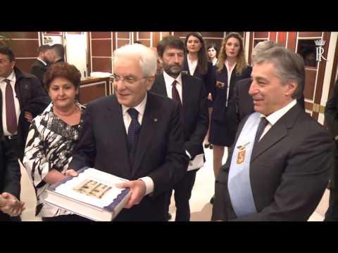 Lecce: Mattarella alla cerimonia di inaugurazione del Teatro Apollo