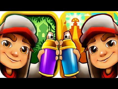 Subway Surfers Peru VS Singapore iPad Gameplay for Children HD #7