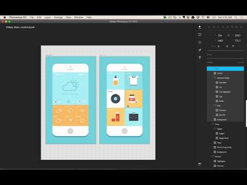 Photoshop has a new interface just for app designers