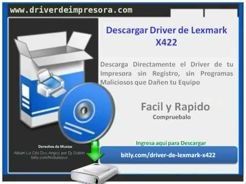 lexmark x422 camera driver download windows 7 32 bit