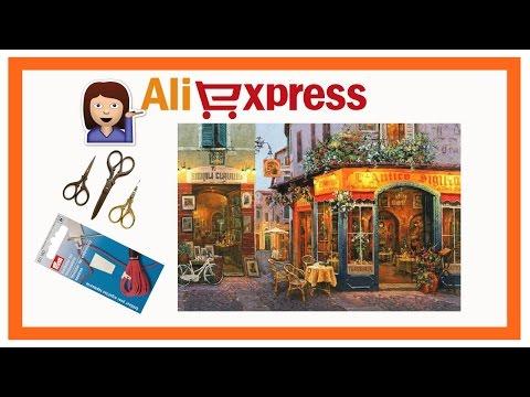 "Покупки Aliexpress: ""Европейское бистро"" от Amishop /обзор/, цапельки, нитевдеватели типа Prym ❤"