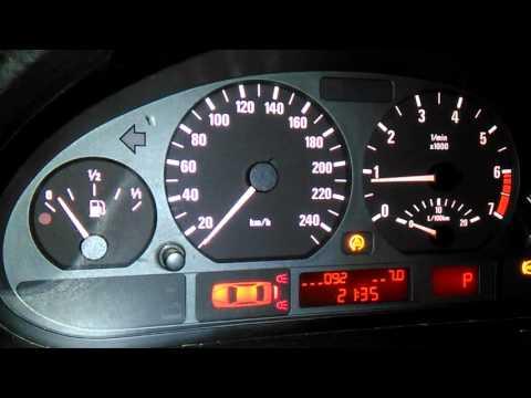 Точная проверка температуры охлаждающей жидкости BMW E46