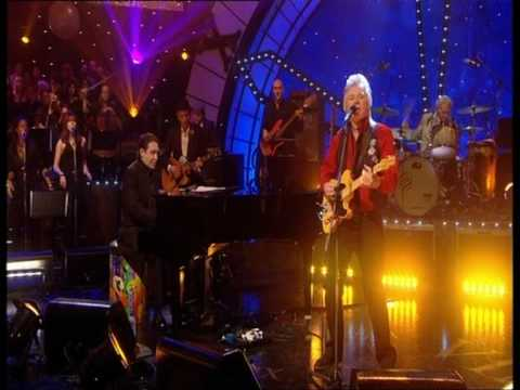 Dave Swift on Bass with Jools Holland backing Dave Edmunds