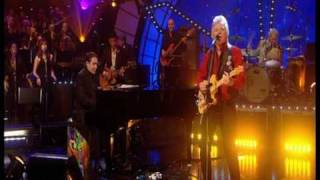 """Dave Swift on Bass with Jools Holland backing Dave Edmunds """"Girls Talk"""""""