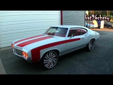 ULTIMATE AUDIO: SUPERCHARGED LS3 '70 Olds Cutlass on 24