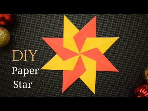 Easy Paper Star Making | DIY Star Making Ideas with Paper | Paper Crafts ideas Easy
