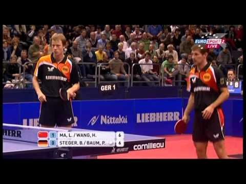 Настольный теннис Командный Кубок Мира 2011 Китай Германия