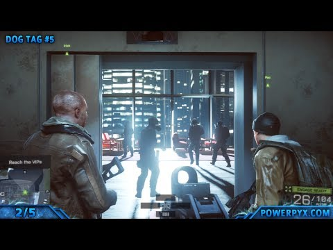 Battlefield 4 - All Collectible Locations (Dog Tags & Weapons) - Mission 2: Shanghai