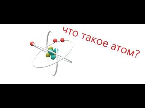 Что такое атом? Физика.