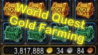 WoW Legion - World Quest Gold Guide - Gold Farming with Order Hall Champions [WoW Gold Guide]