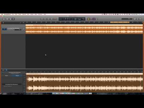 Slowing Down Audio In GarageBand 10.1.0