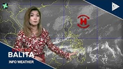 PTV INFO WEATHER: Frontal system, umiiral sa extreme northern Luzon
