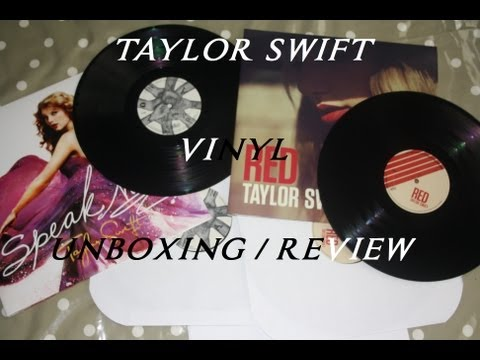 TAYLOR SWIFT VINYL UNBOXING AND REVIEW