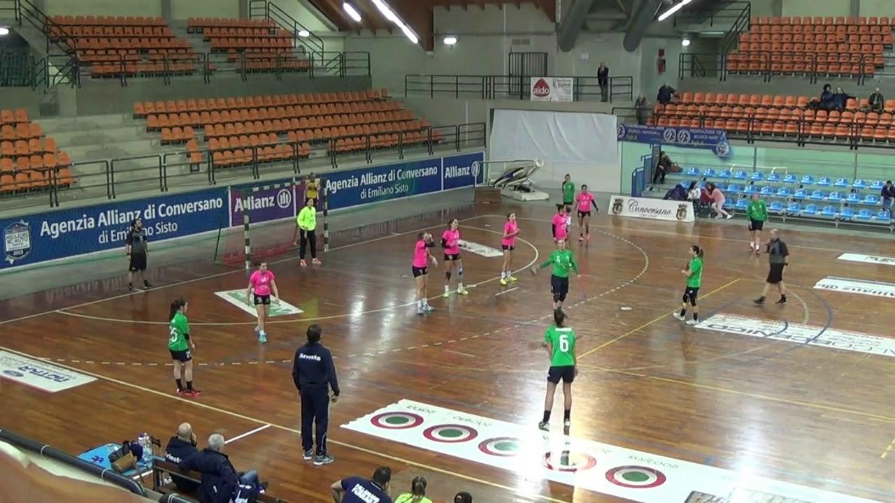 Serie A1F [13^]: Conversano - Ariosto Ferrara 37-23