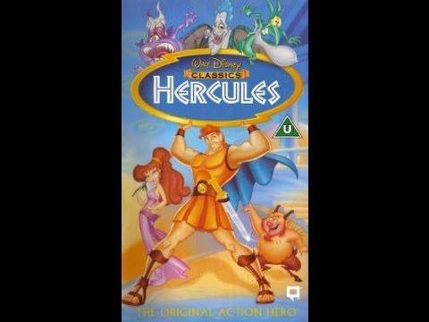 Digitized opening to Hercules (1998 VHS UK)