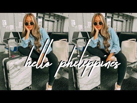 PHILIPPINES VLOG: HELLO MANILA || FarinaVlogs