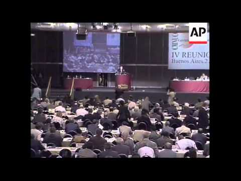 ARGENTINA: KYOTO GLOBAL WARMING ACCORD CONFERENCE