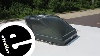 etrailer | Fan-Tastic Vent Ultra Breeze Trailer Roof Vent Cover Review
