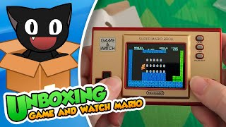 ¡Asi es la Game & Watch de Super Mario Bros! SORTEO