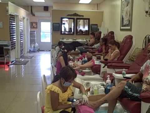 Nail Salon in New Jersey(Pinky Nails) - YouTube