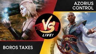 VS Live!   Boros Taxes VS Azorius Control   Modern   Match 2