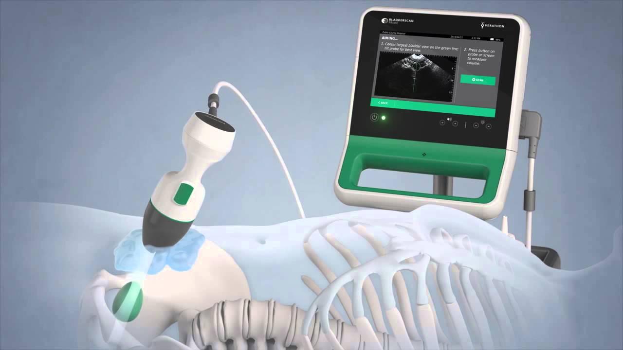 verathon bladderscan prime portable ultrasound instrument youtube. Black Bedroom Furniture Sets. Home Design Ideas