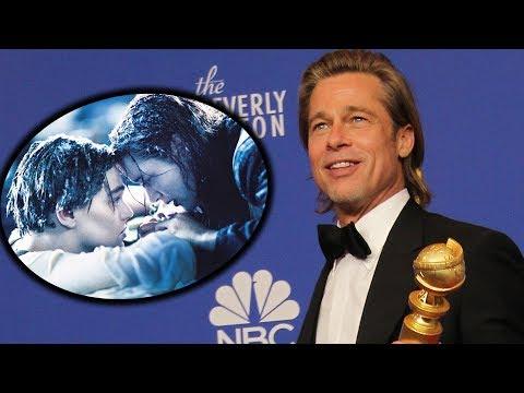 Brad Pitt's Titanic Door Joke Is the 2020 Golden Globes Best Moment!