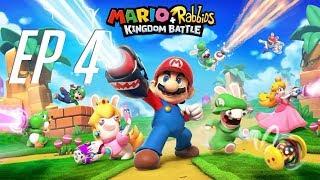 Mario + Rabbids Kingdom Battle - HACIA EL HIELO, MARIO IMPOSTOR OP - EP 4